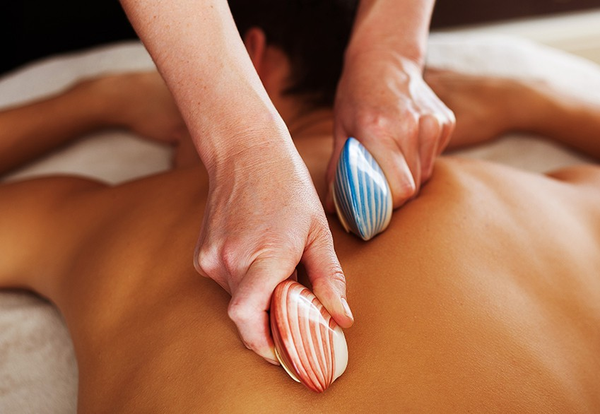 lava shell rescue  body massage course  related image