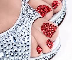 Swarovski Crystal Pedicure image